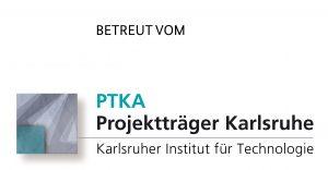 Betreut vom PTKA – Logo